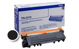 Toner Brother TN-2310 (DCP-L2500D, Bk), 1.200 strani (original, črna)