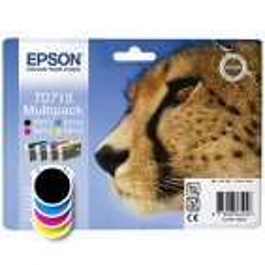 Komplet kartuš Epson T0715 (C13T07154012) (original, komplet)
