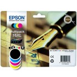 Komplet kartuš Epson 16XL (C13T16364012) (original, komplet)
