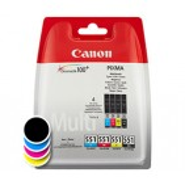 Komplet kartuš Canon CLI-551 Multipack (original, komplet)