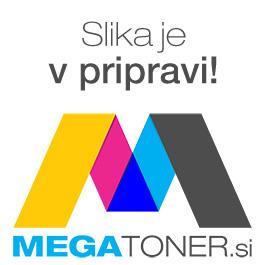 ALCO stenska ura, ovalna, črna