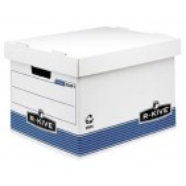 Fellowes arhivska škatla, 380x287x430mm, belo-modra (1 kos)
