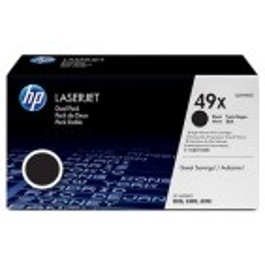 Toner HP 49X (Q5949XD, dvojno pakiranje), 2x 6.000 strani (original, črna)