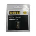 Bi-Office magneti za steklene table (2 kos) FI10mm