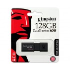 USB ključek Kingston DataTraveler 100 G3, 128GB, USB 3.0, 100/10 (črn)