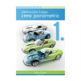 Elektronska knjiga CREO Parametric (1. del, 1.710 strani)