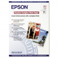 Papir Epson Premium Semigloss Photo, 251g, A3, 20 listov