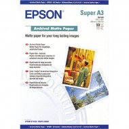 Papir Epson Archival Matte, 192g, A3+, 50 listov