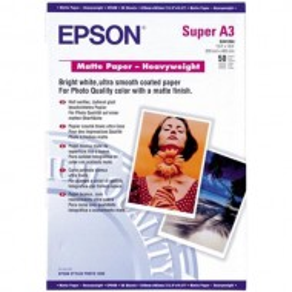 Papir Epson Matte Heavyweight, 167g, A3+, 50 listov