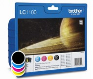 Komplet kartuš Brother LC1100 Value Pack (original, komplet)