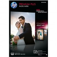 Papir HP Premium Plus Glossy Photo, 300g, 10x15cm, 25 listov