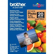 Papir Brother Premium Plus Glossy Photo Paper, 260g, 10x15cm, 20 listov