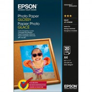 Papir Epson Glossy Photo, 200g, A4, 20 listov