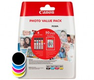 Komplet kartuš Canon CLI-581 Photo Value Pack (2106C005AA) (original, komplet)