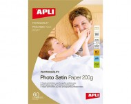 APLI foto papir A4 Photo Satin 200g, 20 listov