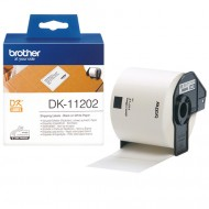 Brother DK-11202, nalepke za transport, 62×100mm (original)