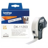 Brother DK-11203, nalepke za mape in registratorje, 17×87mm (original)