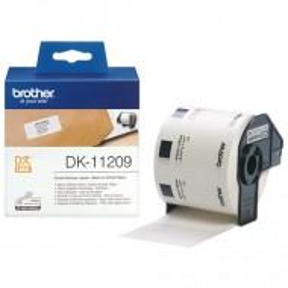 Brother DK-11209, majhne naslovne nalepke, 29×62mm (original)
