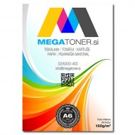 MEGA Premium foto papir, 150g, A6, 20 listov
