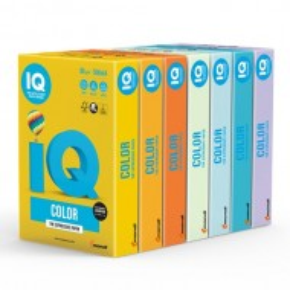 Papir Mondi IQ Color, A4, 160g, 250 listov neonskih barv (različne barve)