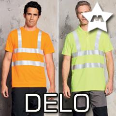 Delovna oblačila, varnost