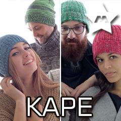 Kape, klobuki