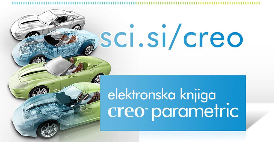 Elektronska knjiga Creo Parametric (Creo 2.0)